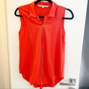 Rachel Roy Zip Detail Blouse